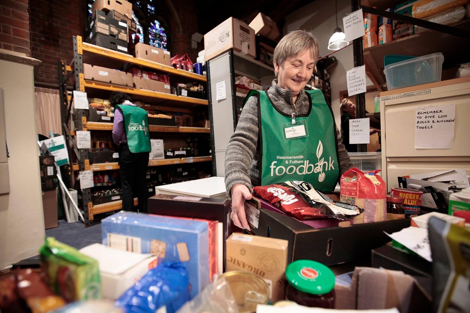 Food Banks And Poverty