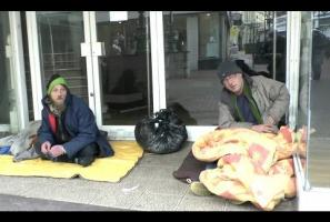 Colin & Paul Homeless In Bournemouth, England